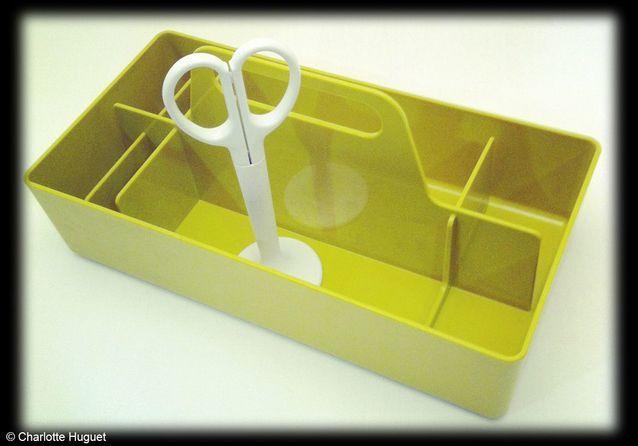 Boîte à outils, design Arik Levy, Vitra, Balouga