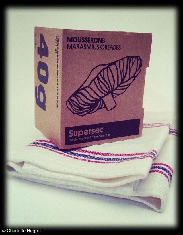 Boîte « Mousserons » Merci