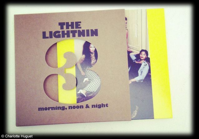 CD « Morning, noon and night » de The ligthnin 3