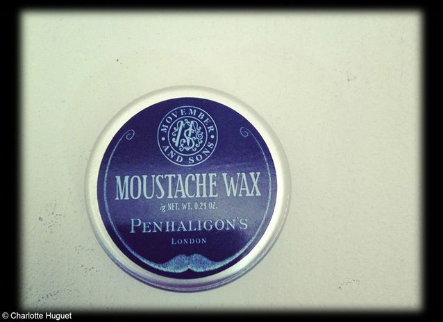 Cire pour moustache Movember and sons