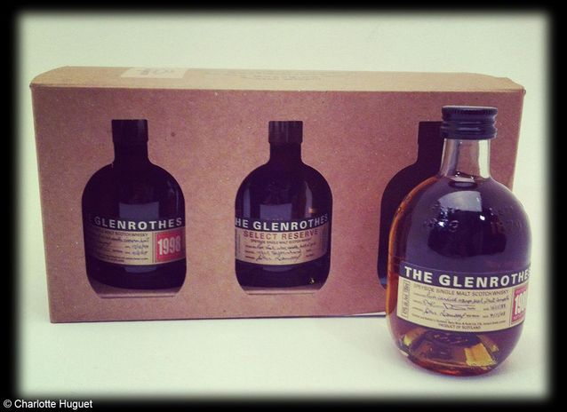 Coffret whisky Glenrothes