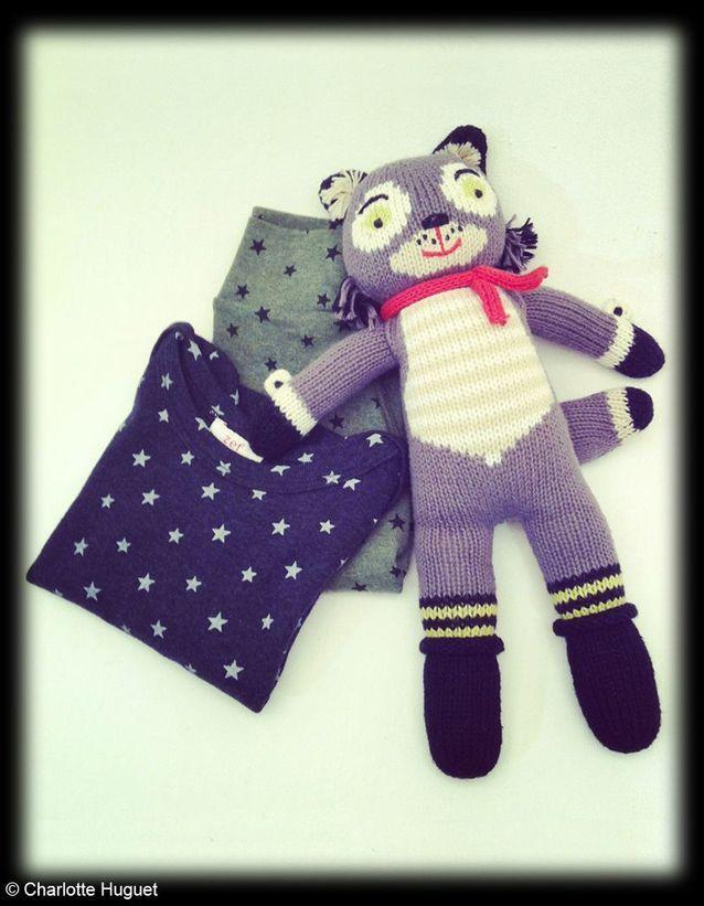 Doudou Knit Dolls « Beauregard », Blabla Kids