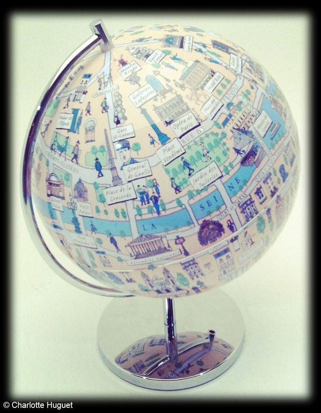 Globe « Paris », Globee, Arteum