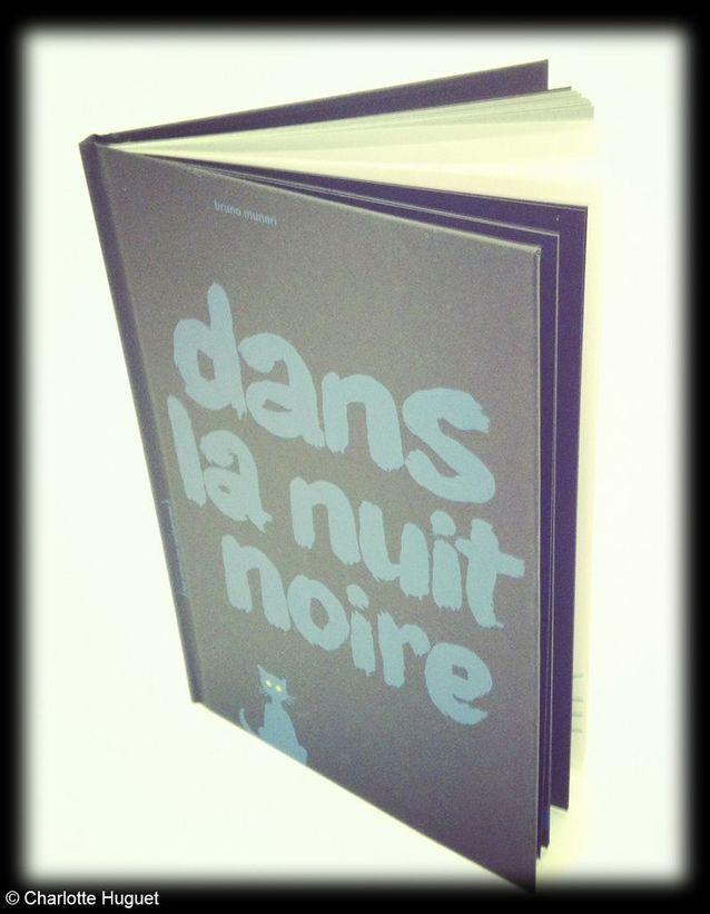 Livre « Dans la nuit noire » de Bruno Munari, Editions
