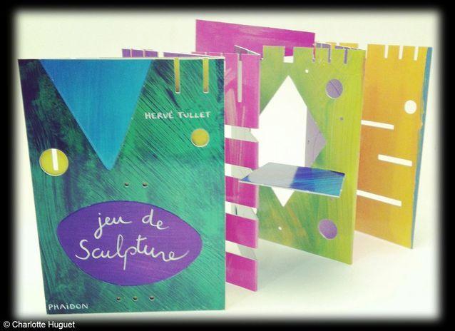 Livre « Jeu de sculpture » design Hervé Tullet, Phaidon