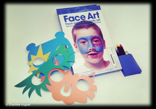 "Set de aquillage "" Face Art"", design Hector Serrano, NPW"