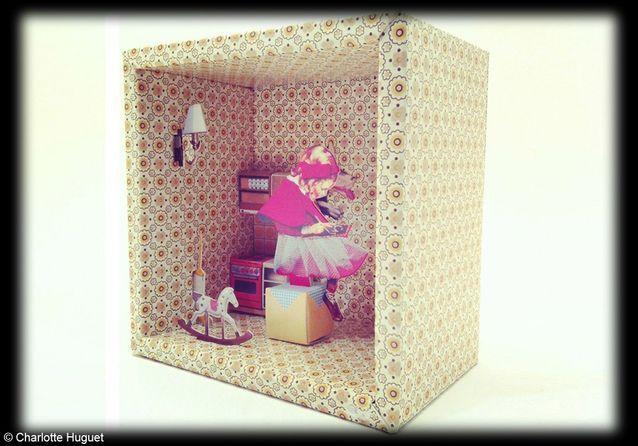 Tableau boîte à histoire « Le Petit Chaperon Rouge », Balouga