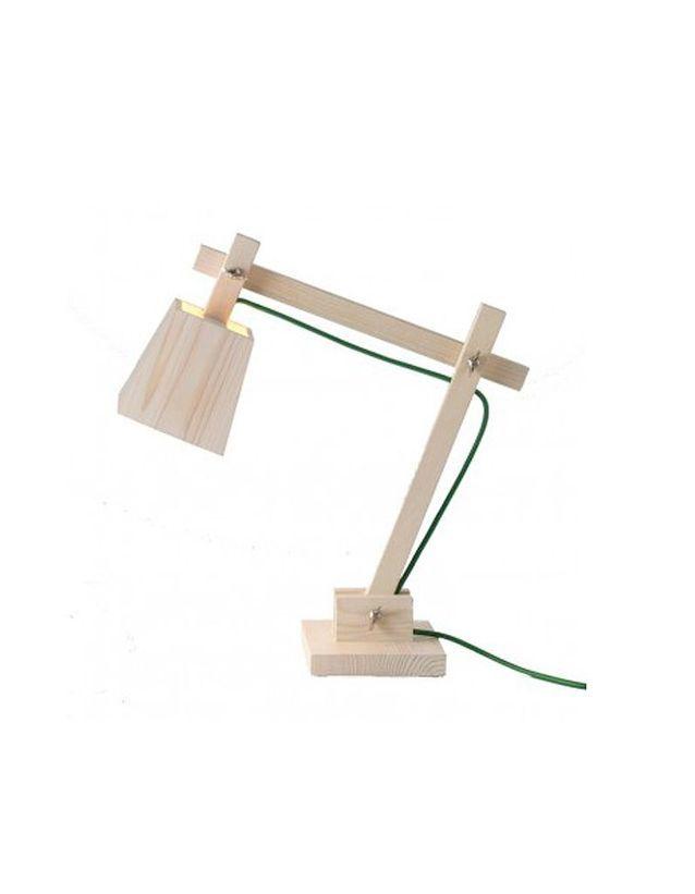 Arteum lampe de bureau wood lamp