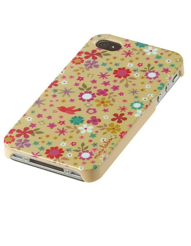 Atomic soda coque fleurs iPhone