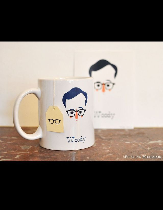 Dawanda mug Woody Allen