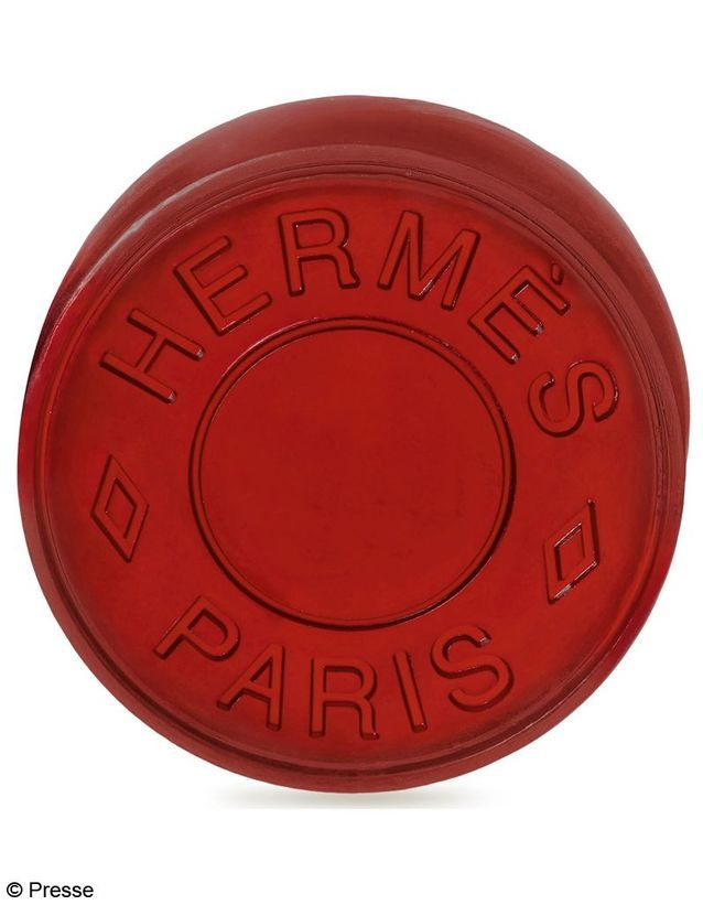 HERMES Savon rouge