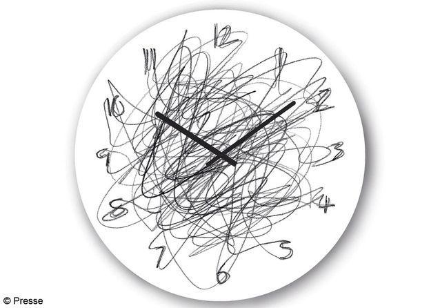 "Horloge ""Continuous"" en acier Konstantinslavinski"