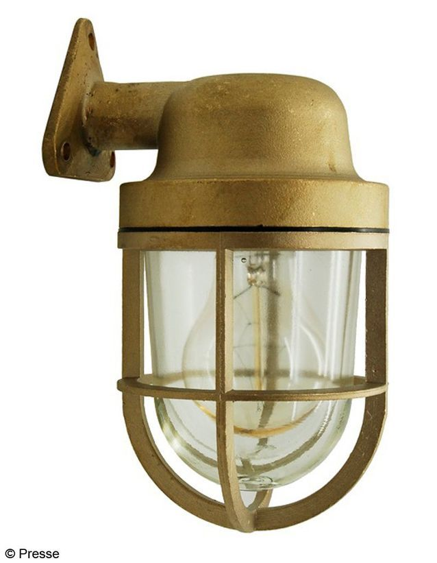 Lampe extérieure en laiton Zangra
