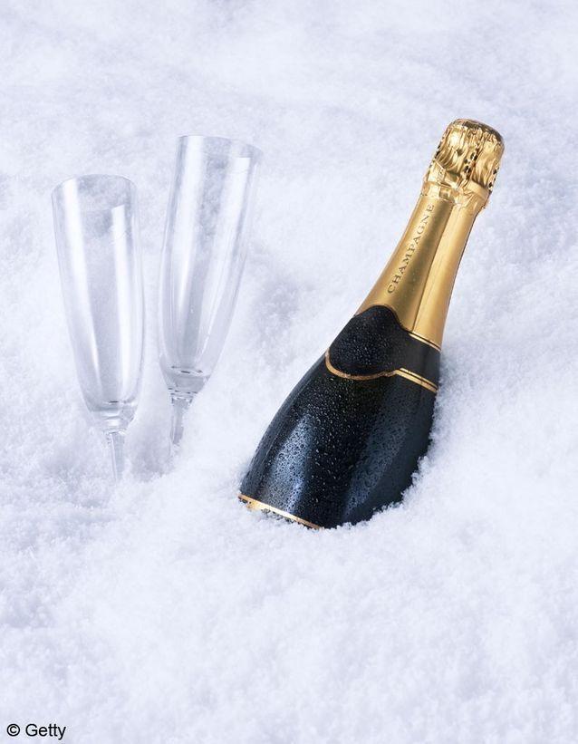 Champagne combien de temps au congelateur