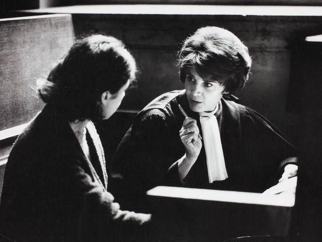 Gisèle Halimi, une plaidoirie courageuse