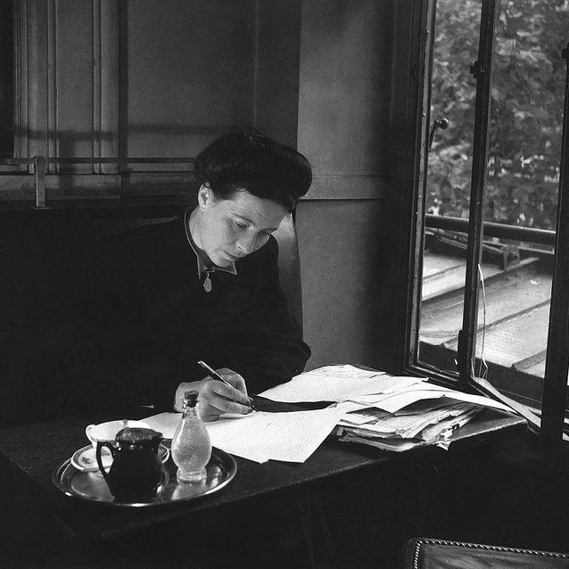 Simone de Beauvoir, l'icône