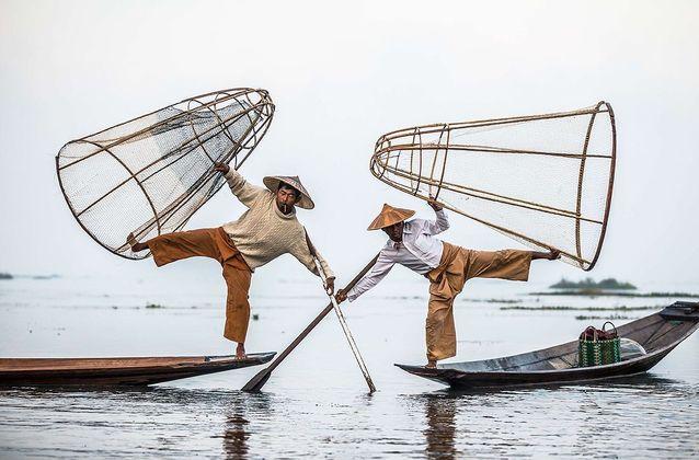 Pêcheurs birmans