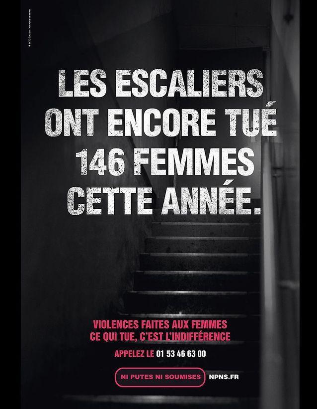 « Les escaliers ont encore tué 146 femmes cette année. »