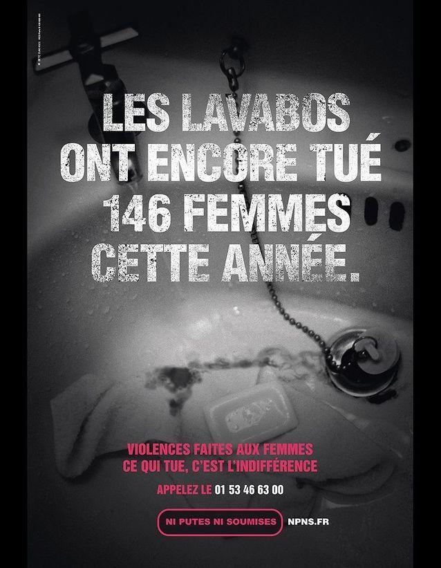 « Les lavabos ont encore tué 146 femmes cette année. »