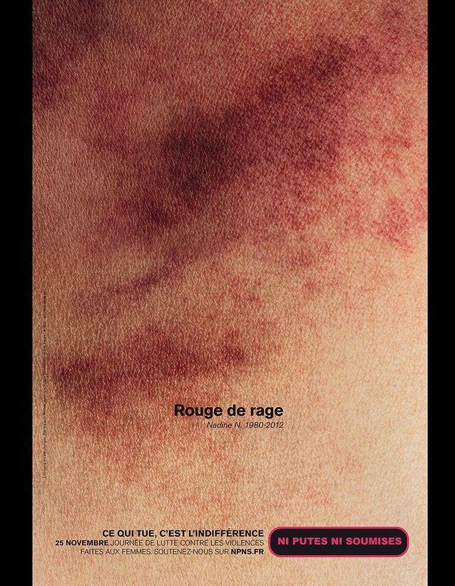 « Rouge de rage »