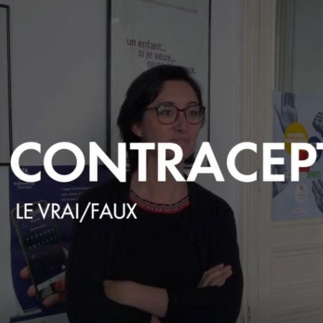"""Découvrez notre vidéo """"Contraception : le vrai/faux"""""""