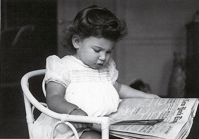 Anne Sinclair en 1950