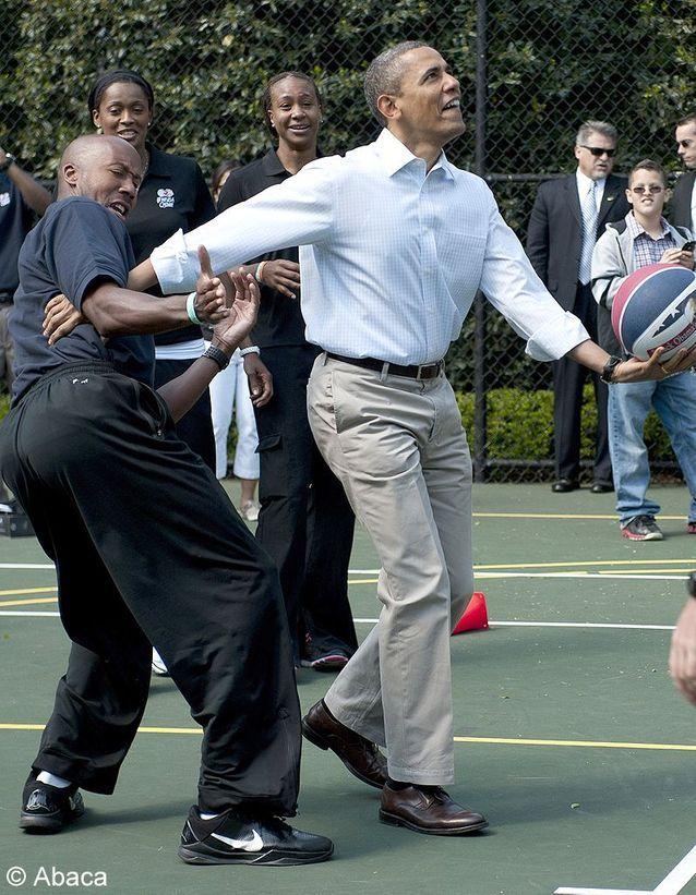 Barack obama sport