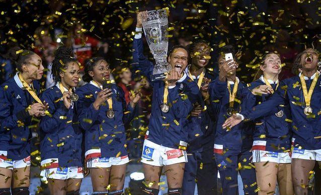 Les Bleues championnes d'Europe (Handball)