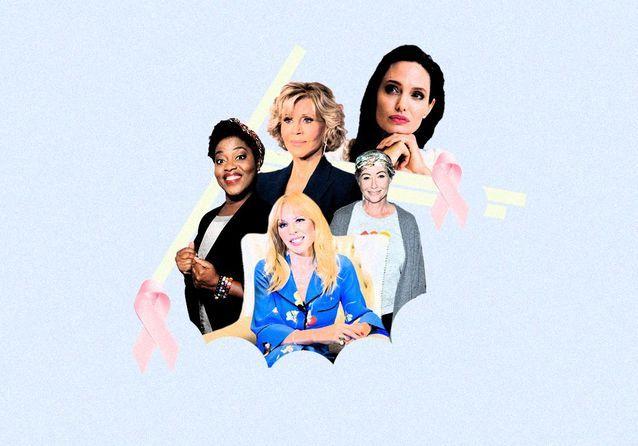 Ces stars qui ont eu un cancer du sein et en parlent sans tabou