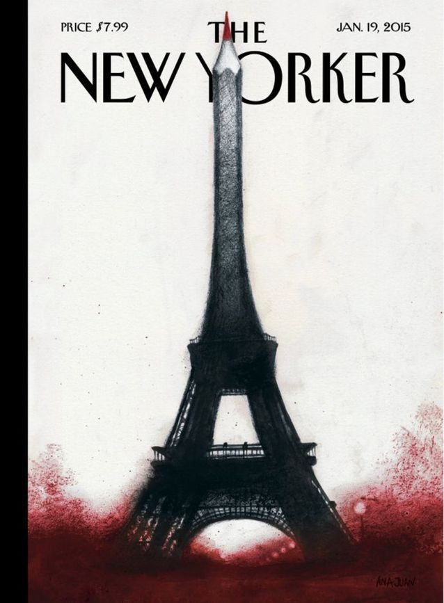 La une du magazine The New Yorker