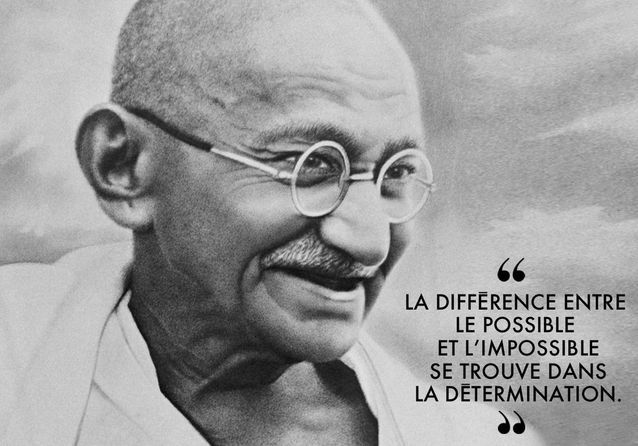 30 citations de Gandhi à méditer au quotidien