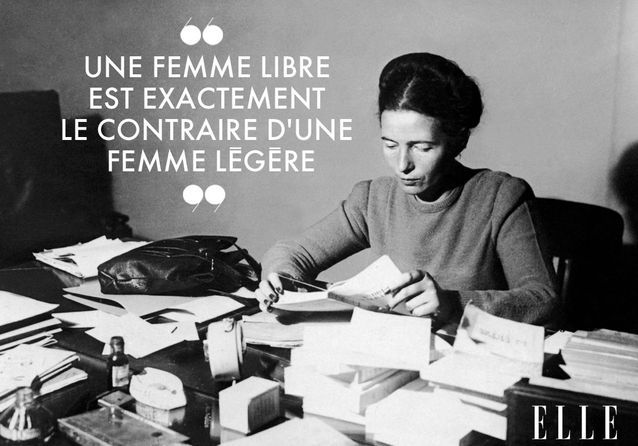 Simone De Beauvoir Ces Citations De Femme Libre A Re Decouvrir