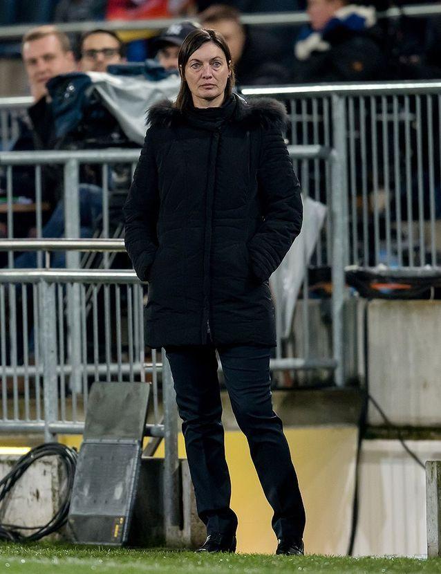 Corinne Diacre, la coach