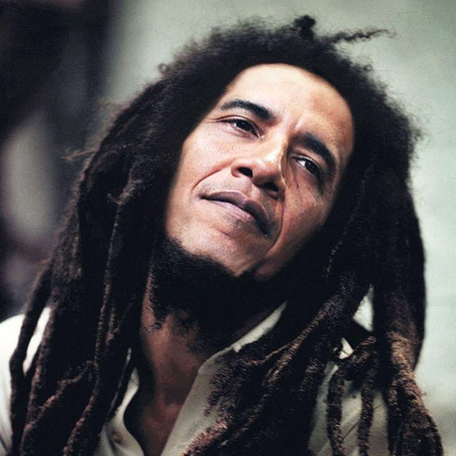 Bob Marley et Barack Obama