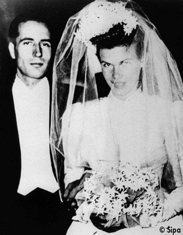 Danielle Mitterrand épouse François Mitterrand en 1944