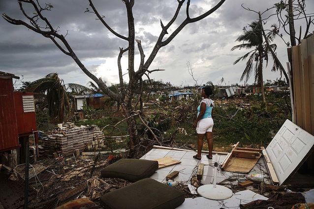 Porto Rico fait face aux importants dégâts causés par l'ouragan Maria