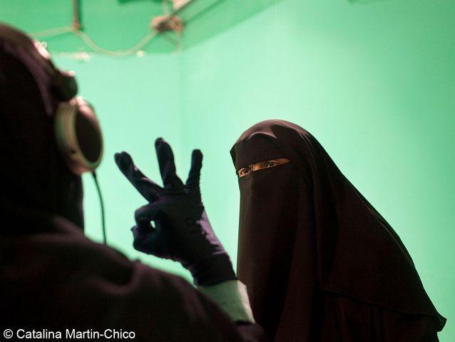 Enregistrement d'une émission de la nouvelle TV salafiste