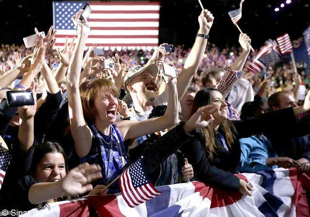 Elections US : la victoire d'Obama en images