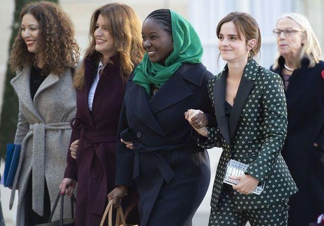 Emma Watson, Brigitte Macron, les prix Nobel de la Paix réunis pour plus d'égalité