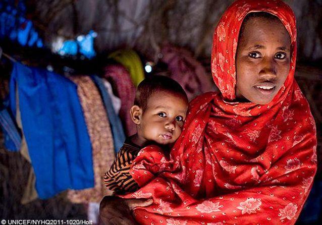 Famine en Somalie : femmes et enfants en danger