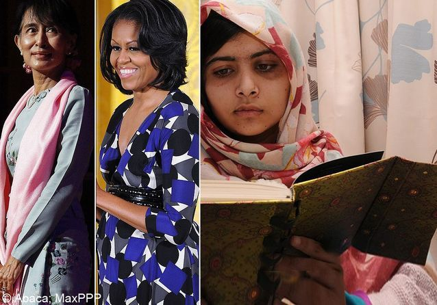 Femmes de l'année 2012 : vos 50 personnalités préférées