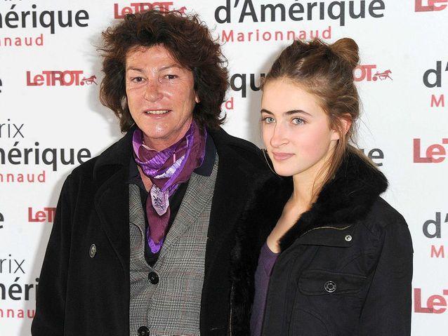 Avec sa fille