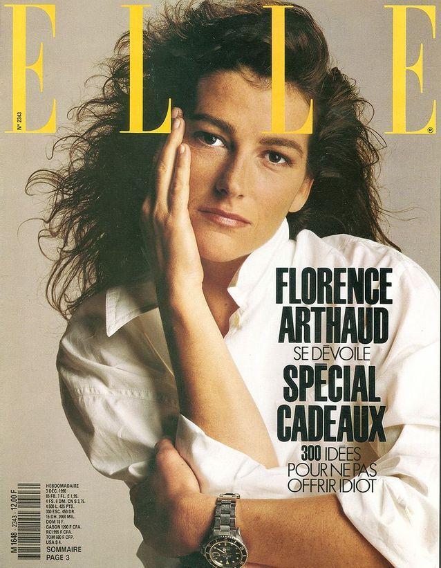 En couverture du magazine ELLE