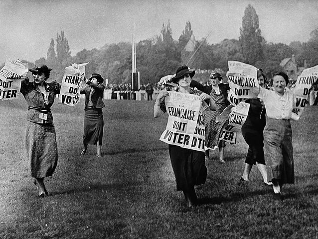 Manifestation à Longchamp