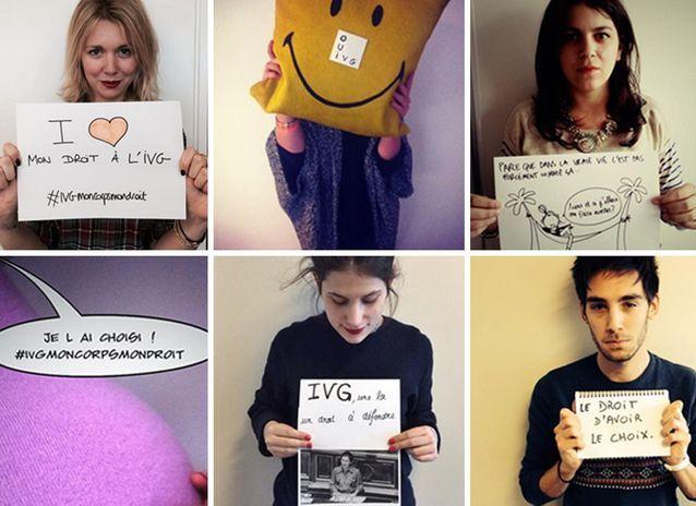 #IVGmoncorpsmondroit: toutes les photos