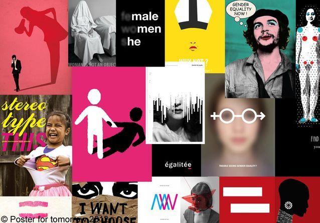 L'égalité femmes-hommes en 17 affiches