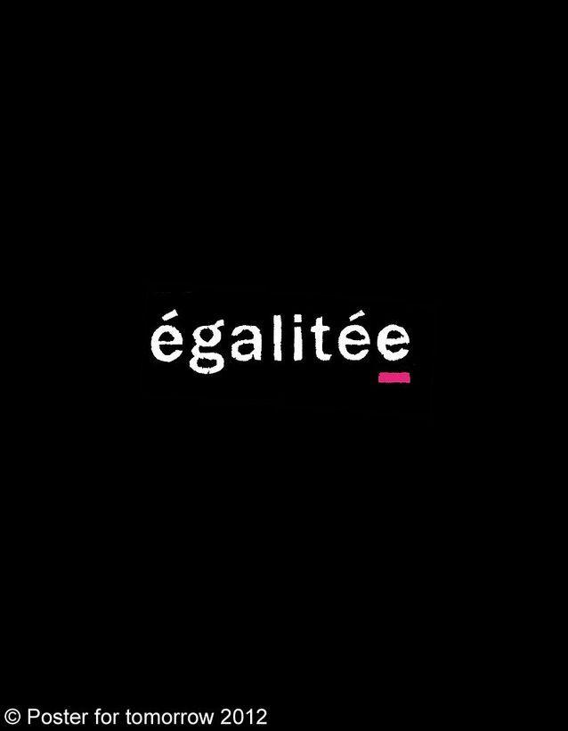 « Egalité » d'Arthur Foliard, France.