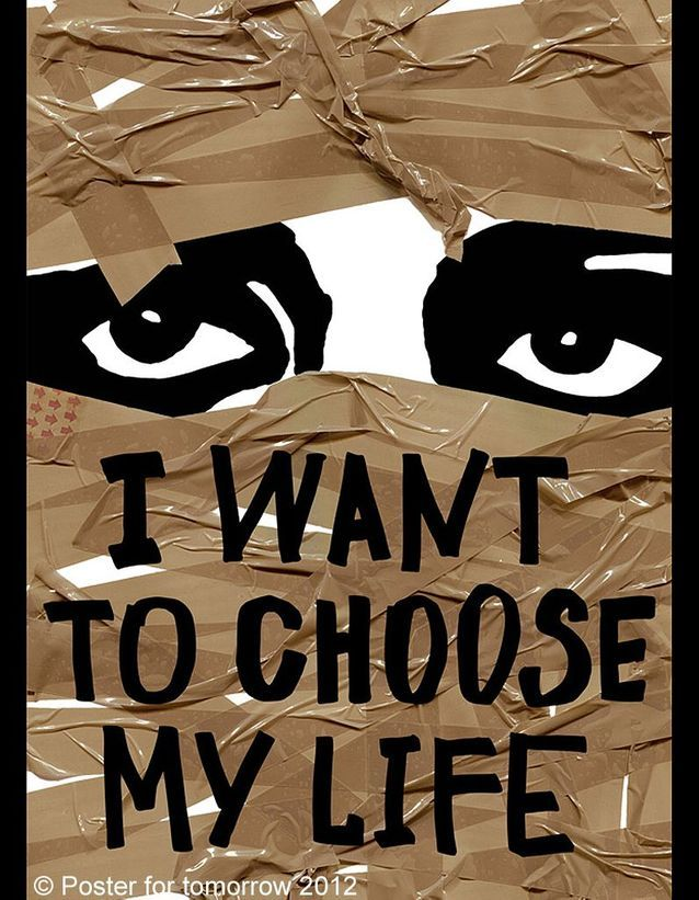 « I want to choose my life » d'Anastasiya Batashan, Russie.