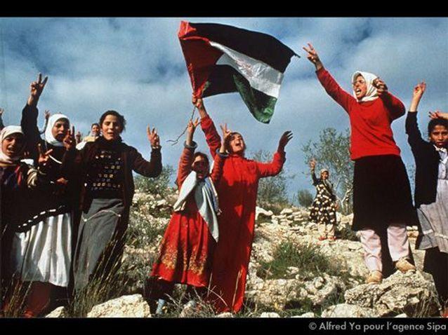 MANIFESTATION DE FEMMES PALESTINIENNES