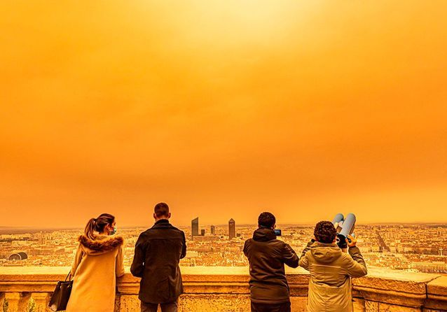 Le sable du Sahara déferle à nouveau sur la France